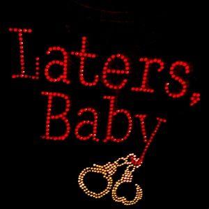 Later's Baby Rhinestone Shirt